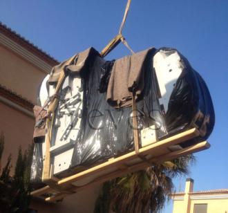 Transporte piano Gary Pons